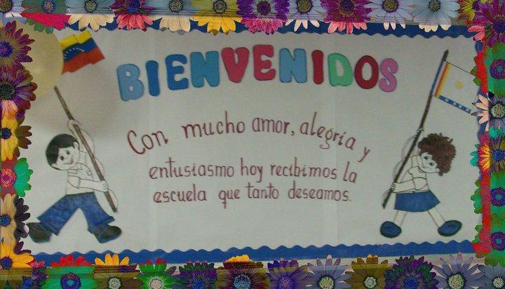 Murales de bienvenida a clases - Imagui